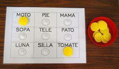 El baúl de A.L: Nuevo bingo de palabras