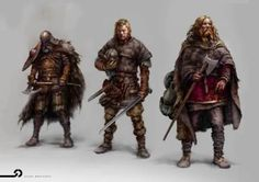 Vikings. Solider Mercenary