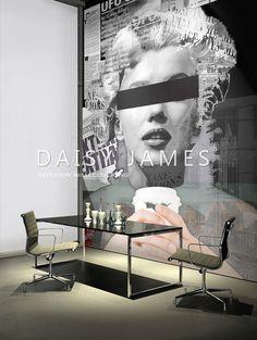 DAISY JAMES wallcover Marilyn Monroe