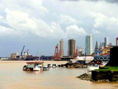 Belém, where I was born. North of Brazil, in Amazon, on river side.