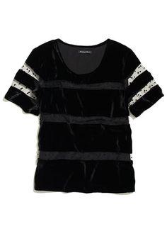 Velvet Dresses And Clothing For Winter 2012