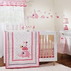 Gingersnap Ellie 3 Piece Girl Crib Bedding Set- The Simply Chic Baby Boutique