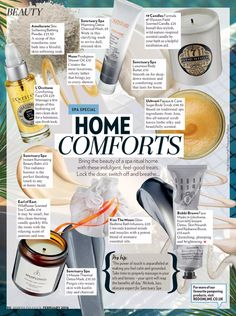 Home spa products