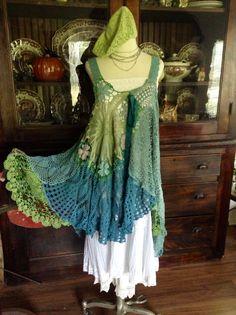Luv Lucy Crochet jurk Lucy's Summer Meadow Skies