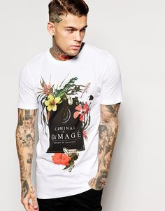 Criminal Damage - T-shirt con stampa ad141aa33e0