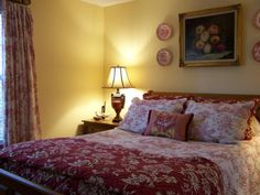 Country French Cottage Master Bedroom