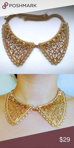 Spotted while shopping on Poshmark: Winged Iris Necklace! #poshmark #fashion #shopping #style #Bluefly #Jewelry