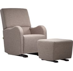 modern comfort dutailier upholstered glider and ottoman all