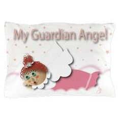 Raggedy Isabella Guardian Angel Pillow Case > Raggedy Isabella > Angelic Inspirations J.L. Designs