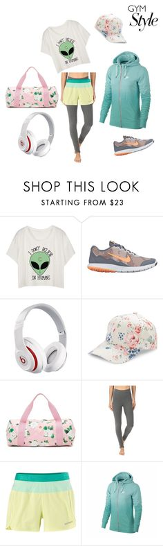 """""""My style"""" by rose-mary-orihuela-abad ❤ liked on Polyvore featuring NIKE, Beats by Dr. Dre, BCBGeneration, ban.do, Yummie by Heather Thomson and Marmot"""