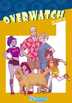 If Overwatch became a family sitcom