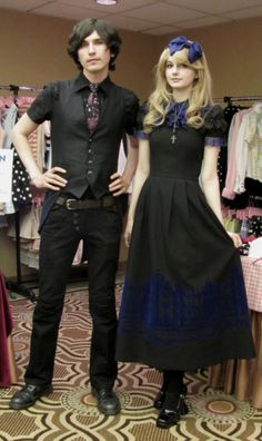 """lavenderlilly: """"Black Peace Now and Moi-meme-Moitie make a nice combination. """" I so badly want that dress"""