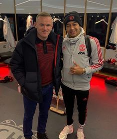 Rooney and Lingard🌟👹 Cristiano Ronaldo Celebration, Pogba Manchester, Man Utd Fc, Jesse Lingard, Marcus Rashford, Wayne Rooney, Manchester United Football, Football Boys, Man United