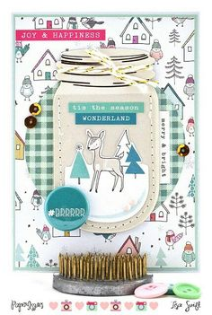 Remember the Good Times: Take 5 with Paper Issues: Wonderland (Crate Paper Snow and Cocoa) Christmas Card For Teacher, Teacher Cards, Paper Streamers, Paper Backdrop, Card Making Inspiration, Making Ideas, Holiday Cards, Christmas Cards, Crate Paper