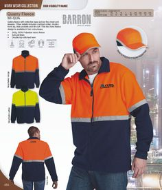 Branded Barron in South Africa. Promotional items are a great way to promote your brand. We supply Barron and other corporate branded products. Fleece Jackets, South Africa, Work Wear, Tape, How To Wear, Clothes, Fashion, Safety, Wool Coats