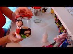 Reciclando #4 ( pote joaninha 1 parte) - YouTube