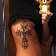 My girl Lauren's gorgeous cross!