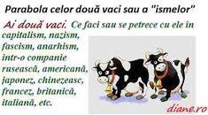 "Parabola celor două vaci sau a ""ismelor"" Mafia, Comics, Memes, Astrology, Meme, Cartoons, Comic, Comics And Cartoons, Comic Books"