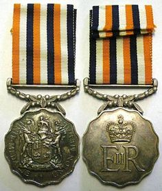 Union Medal obverse and reverse. Military Orders, Grand Cross, Defence Force, Afrikaans, South Africa, Countries, Badge, Awards, Coin Purse