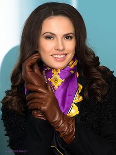 Women S Fashion Jewelry Cheap Referral: 2717709692 Leather Driving Gloves, Leather Gloves, Gloves Fashion, Fashion Shoes, Fashion Jewelry, Silk Neck Scarf, Long Gloves, Neck Scarves, Beautiful Smile