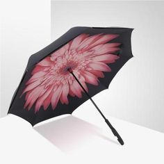 Double Layer Inverted Inverted Umbrella Is Light And Sturdy Colorful Watermelon On Yellow Pastel Reverse Umbrella And Windproof Umbrella Edge Night R