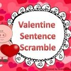 This is a sentence scramble game. Students unscramble the words to make a sentence that makes sense. There is a poster that explains what a complet...   FREE