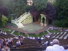 Must visit. Major bucket list... I want to see a play here!  Regent's Park Open Air Theatre
