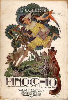 Pinocchio 1937 printed in Italy