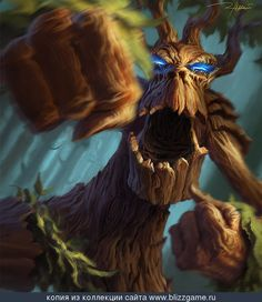World of Warcraft Treant by Ron Lemen