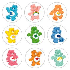 Loved the Care Bears Care Bear Birthday, Care Bear Party, Care Bear Tattoos, Balloons Galore, Looney Tunes Cartoons, Bear Crafts, Bear Theme, Bear Pictures, Cute Clipart