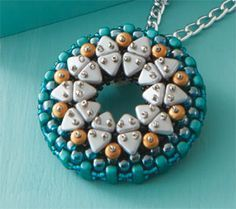 Two-Hole Triangle Shaped Beads and How to Weave Them Into Jewelry Designs
