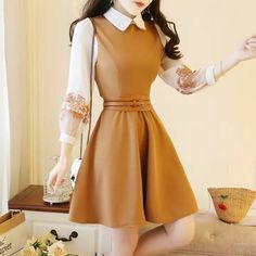 Teen Fashion Outfits, Mode Outfits, Classy Outfits, Pretty Outfits, Stylish Outfits, Fashion Dresses, Dresses For Teens, Trendy Dresses, Cute Dresses
