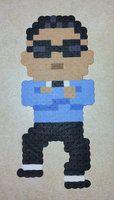 Perler Psy by ~IAmArkain on deviantART