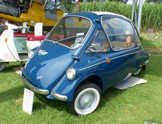 Heinkel Kabine Trojan 604 1963 blue vl