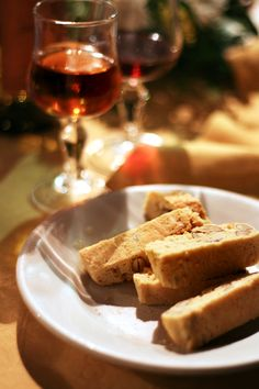 Cantucci and Vin Santo!
