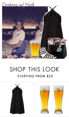 """Drinking w/ Niall"" by beccalynnward ❤ liked on Polyvore featuring Miss Selfridge and Topshop"