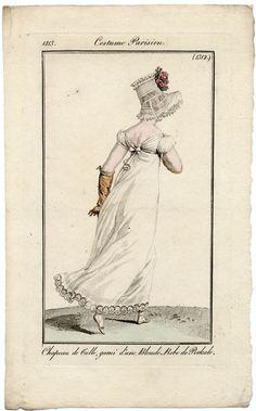 Running. Costume parisien, 1813