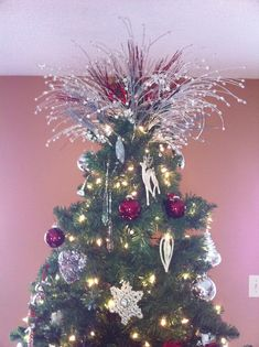 7 Best Christmas Tree Topper Ideas Images In 2014 Christmas Tree
