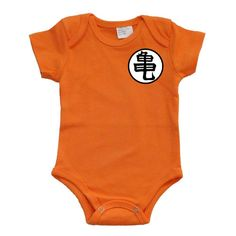 Goku Dragon Ball Z Baby Onesie Bodysuit by GoGetYourGeekOn on Etsy, $15.00