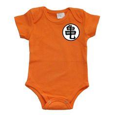 Goku Dragon Ball Z Baby Onesie Bodysuit by GoGetYourGeekOn on Etsy, $15.00