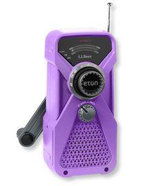Mini Emergency Radio: Radios | Free Shipping at L.L.Bean