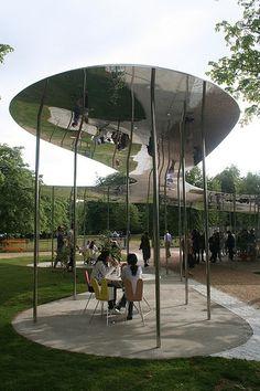 Architect Visit: Serpentine Pavillion by SANAA : Remodelista