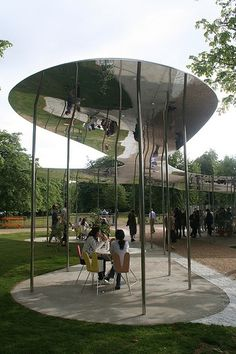 Architect Visit: Serpentine Pavillion by SANAA : Remodelista