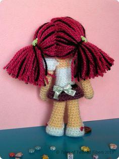 Amy, the Amigurumi Doll Free Pattern | Tales of Twisted Fibers