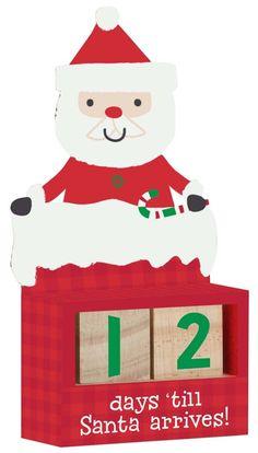 Here Comes Santa Claus Christmas Countdown