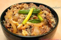 日式料理好簡單就完成了!牛肉壽喜丼飯