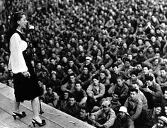 The memories Dinah Shore created for the troops who saw her perform left lasting impressions and sometimes resulted in tangible tributes. After WWII, the USO presented Shore with an award for her service on its behalf, and she enjoyed continued success in music, movies, TV and philanthropy.