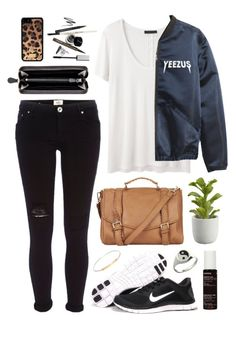 """Yeezus"" by sophiehackett ❤ liked on Polyvore featuring NIKE, The Row, River Island, Bottega Veneta, Topshop, Crate and Barrel, Dolce&Gabbana, Korres and Loren Stewart"