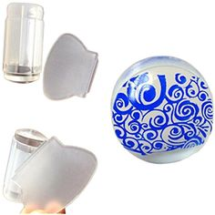 OVERMAL 2.8cm DIY Nail Art Stamping Stamper Scraper Image Plate Transfer Manicure Tool *** For more information, visit image link. (This is an affiliate link and I receive a commission for the sales) #NailArtAccessories