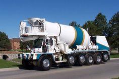 Semi Trucks, Big Trucks, Cement Mixer Truck, Truck Scales, Concrete Mixers, Heavy Duty Trucks, The Old Days, Fire Engine, Rigs